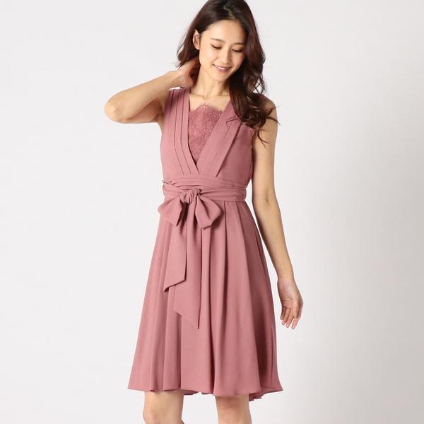 ノースリーブVタックドレス/ミューズ リファインド クローズ(MEW'S REFINED CLOTHES)