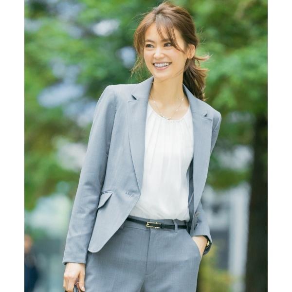 【洗える】ウォッシャブルT/Wスーツテーラード ジャケット/エニィスィス Lサイズ(any SiS L)