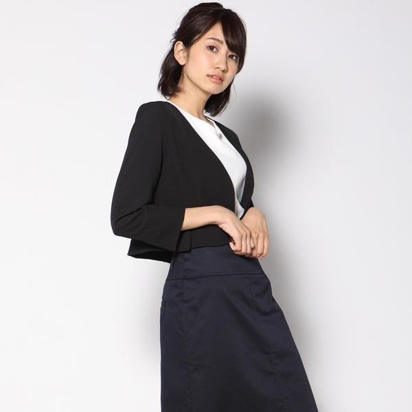 【洗濯可能】バックぺプラムジャケット/ケティシェリー(ketty cherie)