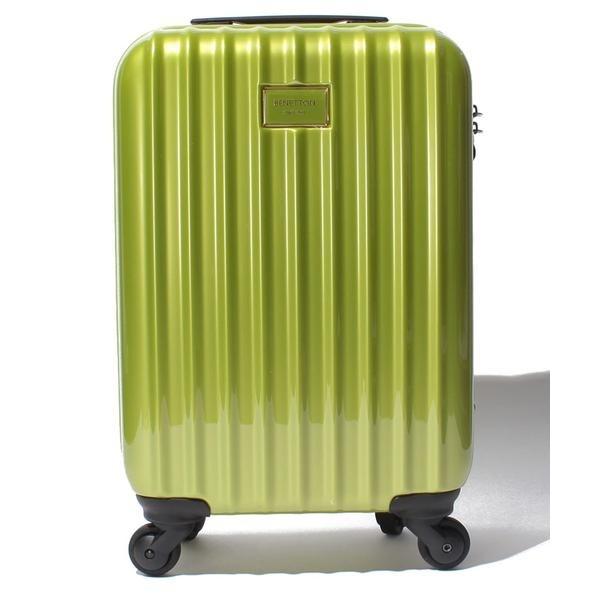 静走ラインキャリーケース・スーツケース機内持込可 容量約29L 静音/ベネトン レディース(UNITED COLORS OF BENETTON)