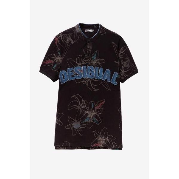 ポロシャツショート袖/デシグアル(Desigual)