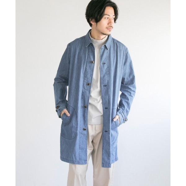 メンズコート(MANUAL ALPHABET RESEARCH) ALPHABET DENIM SHIRTS メンズコート(MANUAL COAT)/アーバンリサーチ(メンズ)(URBAN RESEARCH), Beyond living:1ed4a83e --- officewill.xsrv.jp