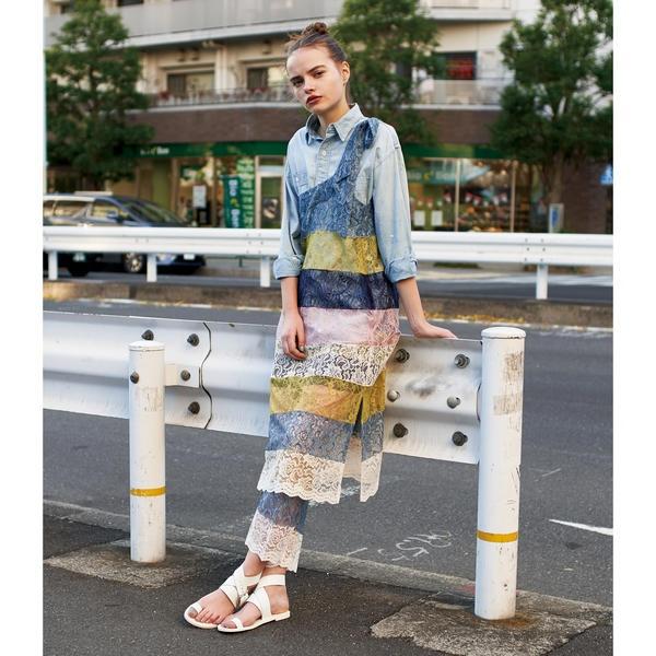 maturely / Multi Lace Unit Dress/ビームス ボーイ(BEAMS BOY)