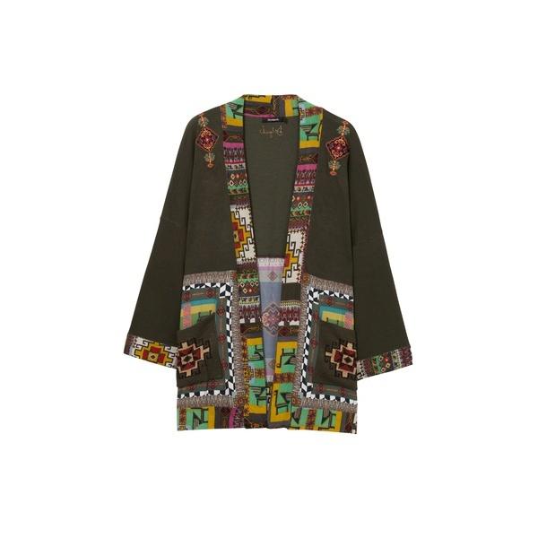 薄いゲージジャケット/デシグアル(Desigual)