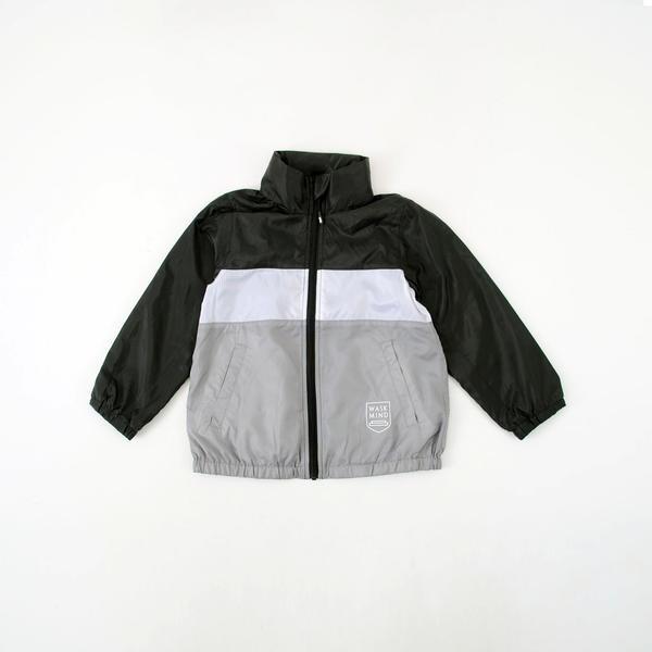 配色裏メッシュタフタジャケット(140cm~160cm)/ワスク(WASK)