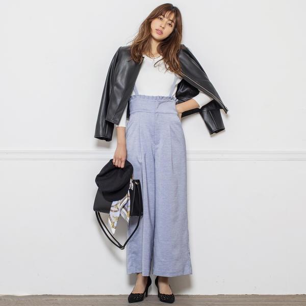 紐取り外しワイドパンツ/ミューズ リファインド クローズ(MEW'S REFINED CLOTHES)