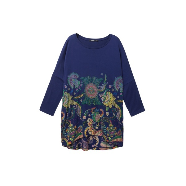 花柄Tシャツ CASSIDY/デシグアル(Desigual)