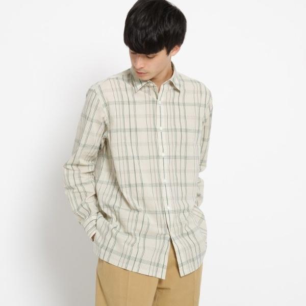 Mシャツ(ベーシックチェックシャツ)/ドレステリア(メンズ)(DRESSTERIOR Mens)