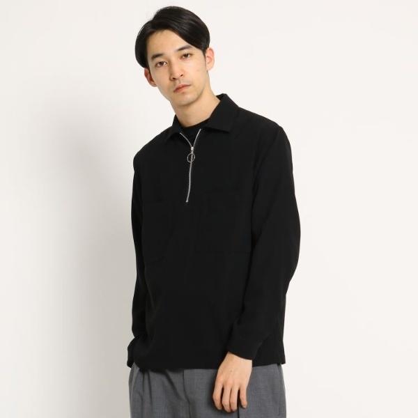 MTシャツ(ジップアッププルオーバー)/ドレステリア(メンズ)(DRESSTERIOR Mens)