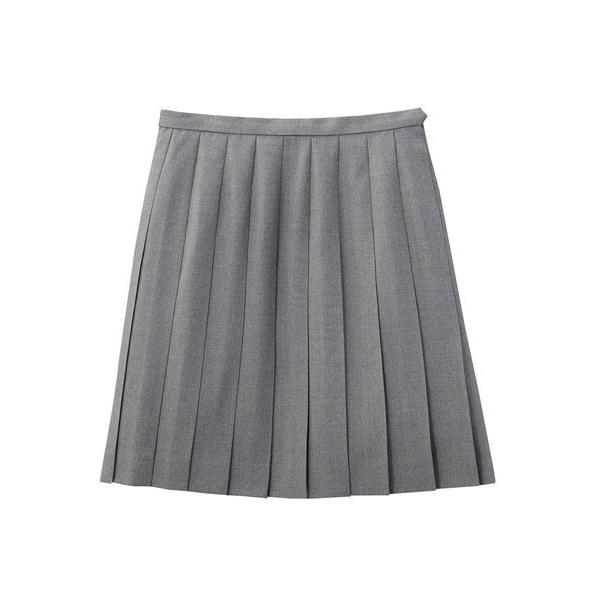 年間通して着用できる上質な綾織のウール素材です Venus 無地プリーツスカート〈45cm丈〉【制服】【学校】【スクール】【ヴィーナス】/イーストボーイ(スクール)(EAST BOY)