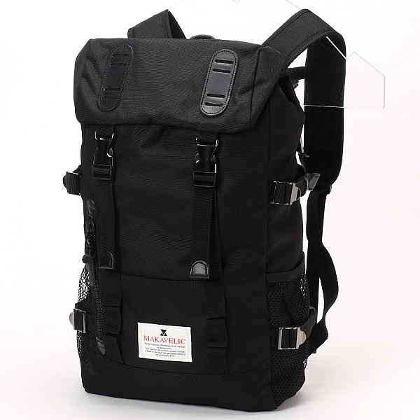 【MAKAVELIC/マキャベリック】DOUBLE BELT DAYPACK/アドポーション(ADOPOSION)