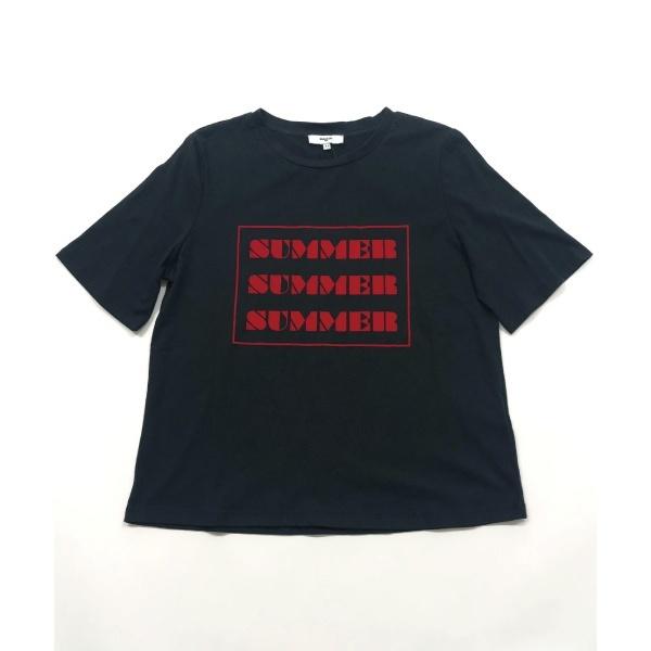 【suncoo】SUMMER フロッキーロゴTシャツ/ジェットセット(インポート)(JETSETIMPORT)