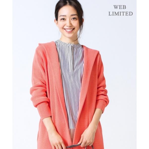 【2019春のWEB限定カラー】Compact Air Cotton カーディガン/アイシービー L(ICB L)