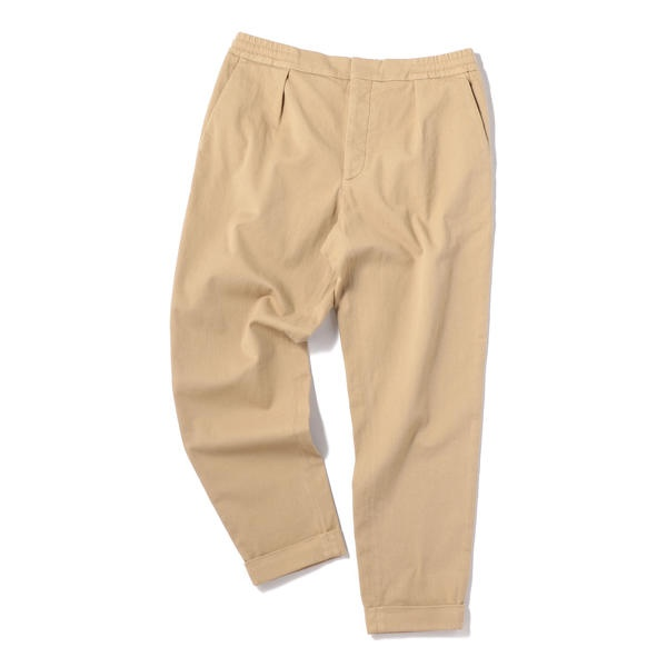BARENA: WIDE TAPERED TWILL EASY PANTS/シップス(メンズ)(SHIPS)