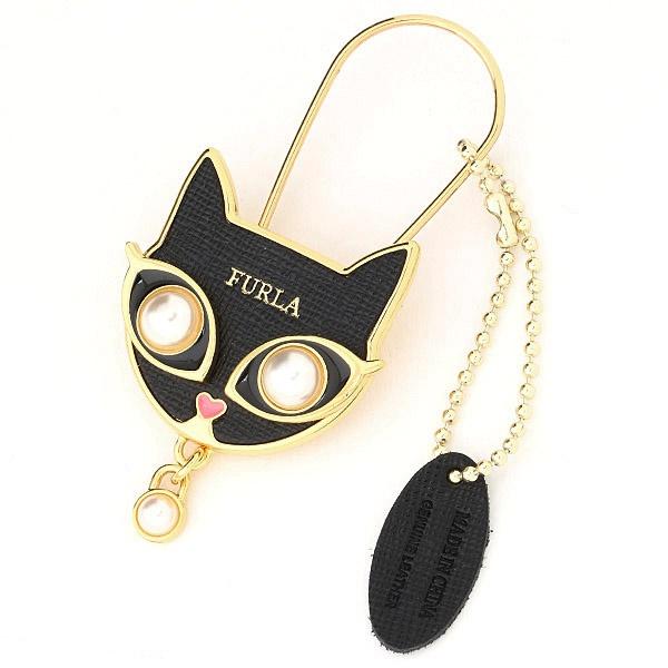 フルラ キーリング CAT/ ダイナマイト (FURLA)