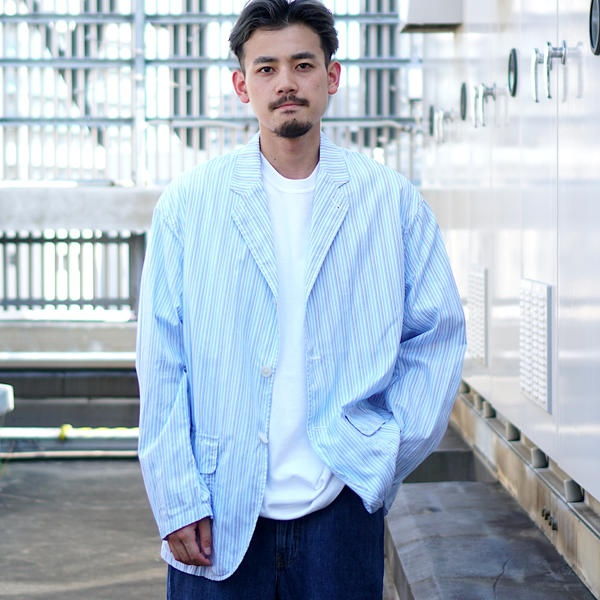 Jacket/ Nylon / (BEAMS) ビームス VAPORIZE Shirt