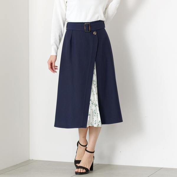 2WAYトレンチスカート/ミューズ リファインド クローズ(MEW'S REFINED CLOTHES)
