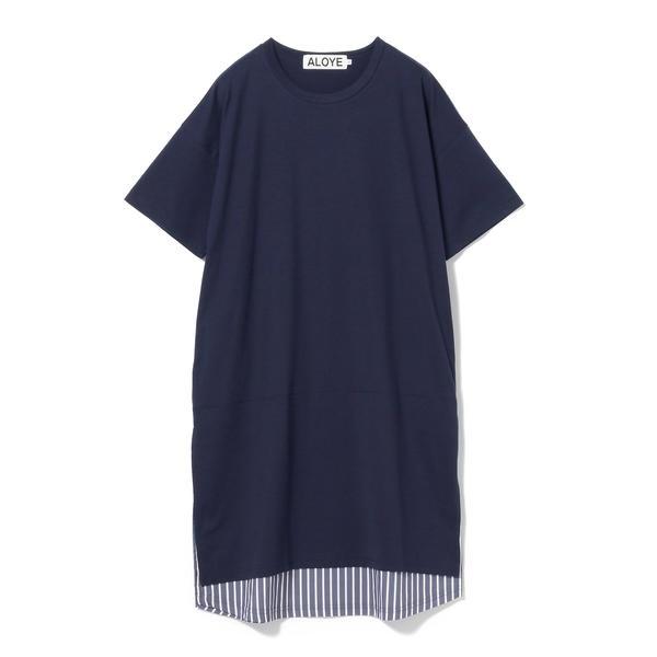 ALOYE × Ray BEAMS / 別注 ショートスリーブ Tシャツ ワンピース/レイ ビームス(Ray BEAMS)