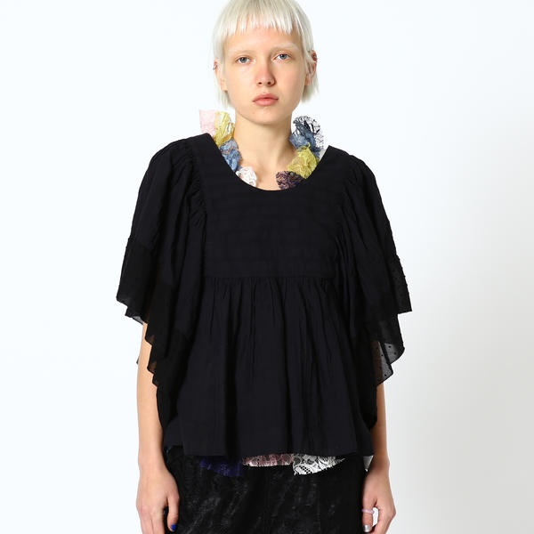maturely / Cut Dobby Butterfly Tunic/ビームス ボーイ(BEAMS BOY)
