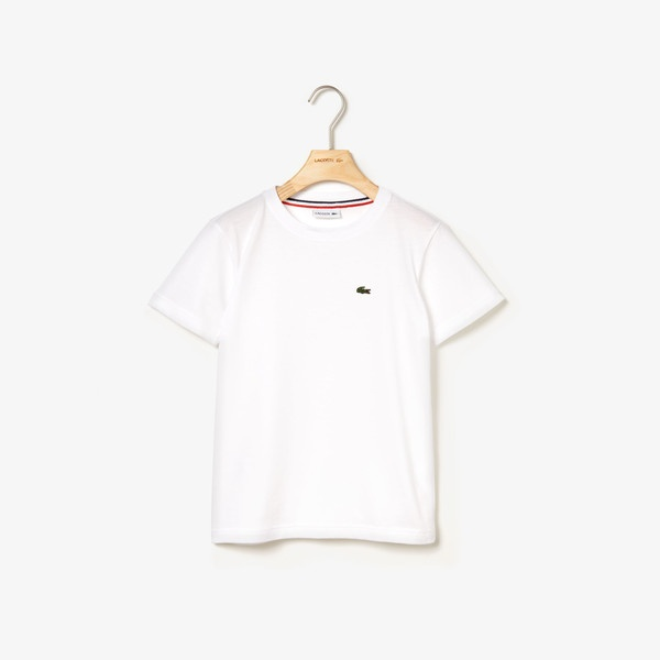 - Boys コットンジャージー ランキング総合1位 クルーネックTシャツ ラコステ 大規模セール LACOSTE