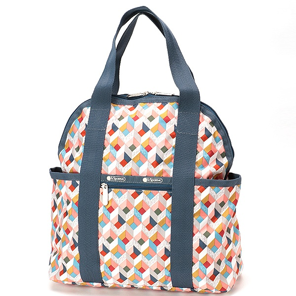 DOUBLE TROUBLE BACKPACK/ボックスステップ/レスポートサック(LeSportsac)