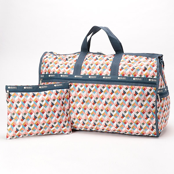 EXTRA LARGE WEEKENDER/ボックスステップ/レスポートサック(LeSportsac)