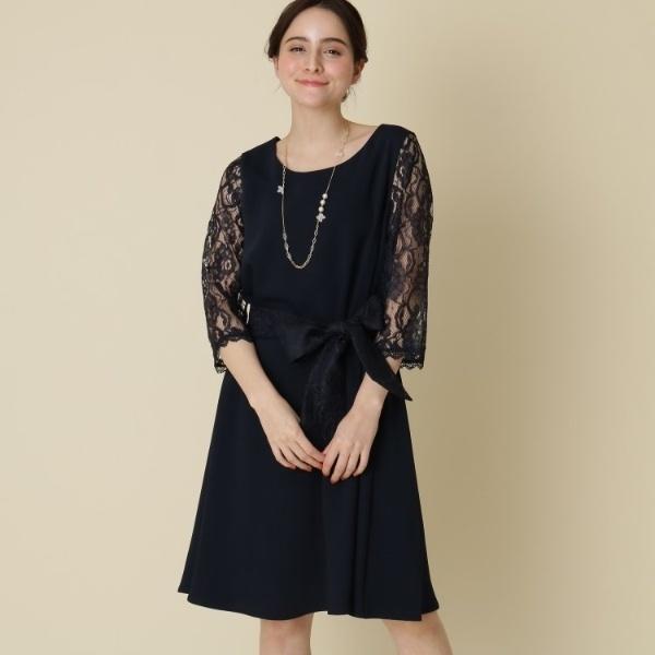 ワンピース(【WEB限定販売(LLサイズ)】Mint Souffle レーシーワンピース)/クチュールブローチ(Couture Brooch)