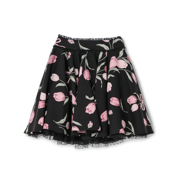 ビッグチューリップスカート / mille fille closet/ロディスポット(LODISPOTTO)