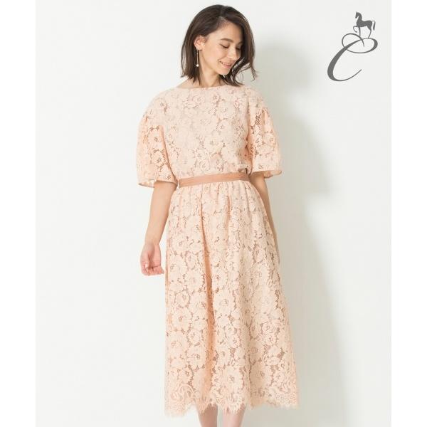 【Class Lounge】CAMELLIA LACE スカート/自由区(JIYUKU)