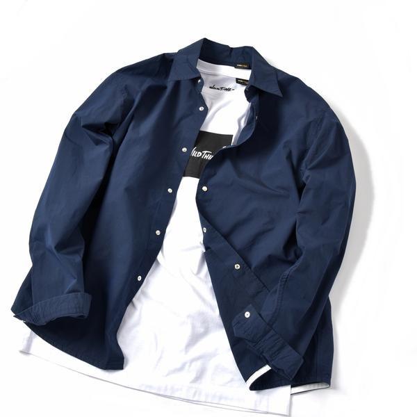 【MEN'S NON-NO 5月号 p.111掲載】SHIPS JET BLUE: コーチシャツジャ/シップス ジェットブルー(SHIPS JET BLUE)