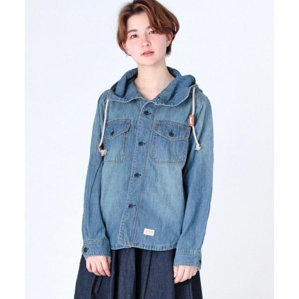 フード付きアーミーシャツ/オーディション(Audition)