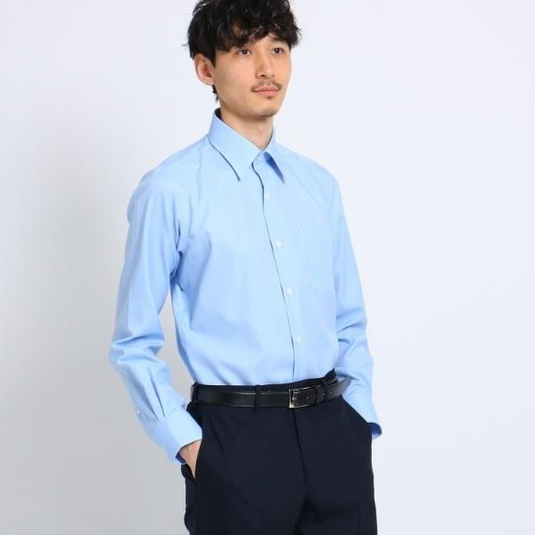 Mシャツ(マイクロドットブロードシャツ[ メンズ トップス シャツ ビジネス 結婚式 ノンアイロン ])/タケオキクチ(TAKEO KIKUCHI)