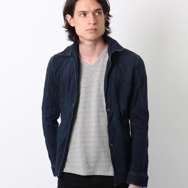 デニムジャケットシャツ/シュリセル(SCHLUSSEL)
