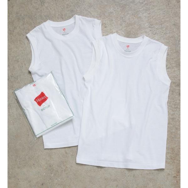 【Hanes FOR BIOTOP】Sleeveless T-Shirts/アダム エ ロペ(レディース)(ADAM ET ROPE')