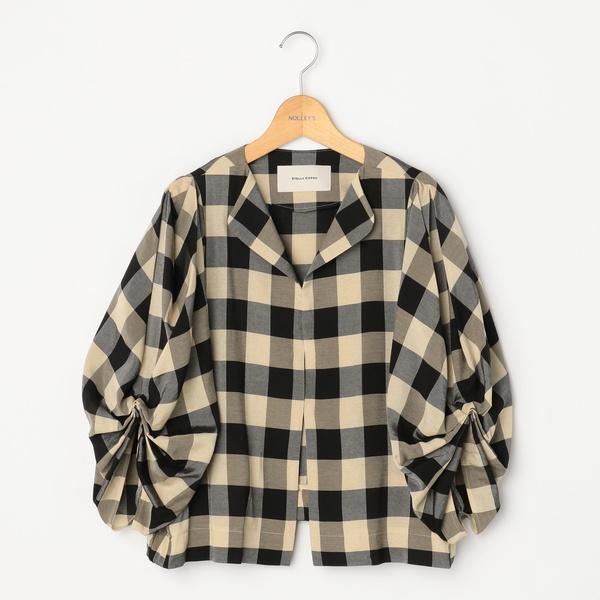 【STELLA CIFFON/ステラシフォン】ブロックチェックシャツジャケット/ノーリーズ レディース(NOLLEY'S)