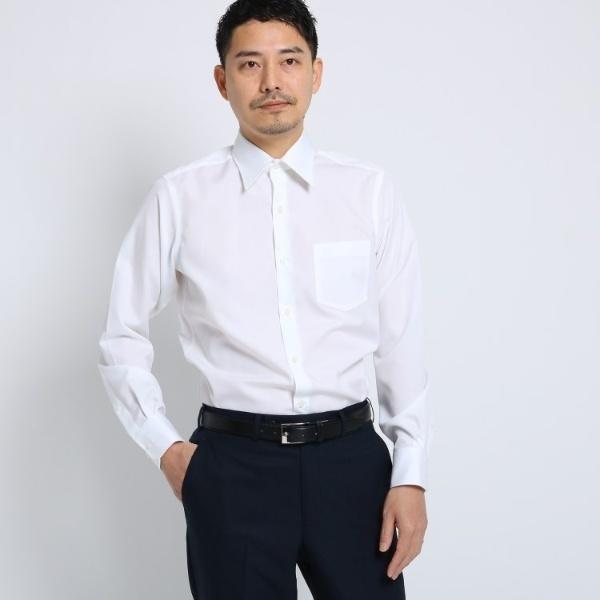 Mシャツ(1002ブロードシャツ[ メンズ シャツ ワイシャツ 形態安定 無地 白 ])/タケオキクチ(TAKEO KIKUCHI)