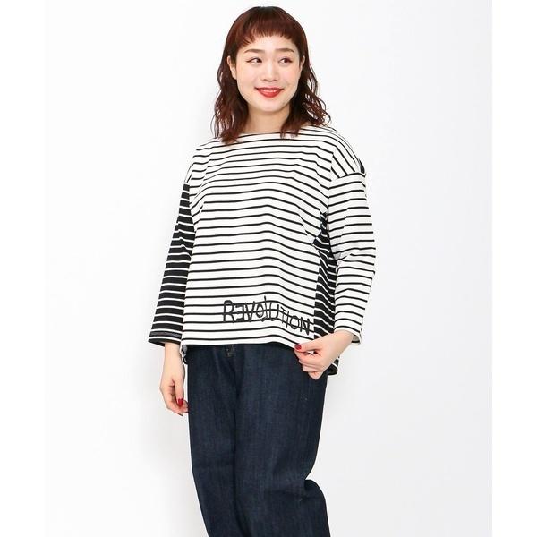 【大きいサイズ】Basic☆バスクシャツ/アズノゥアズオオラカ(AS KNOW AS olaca)