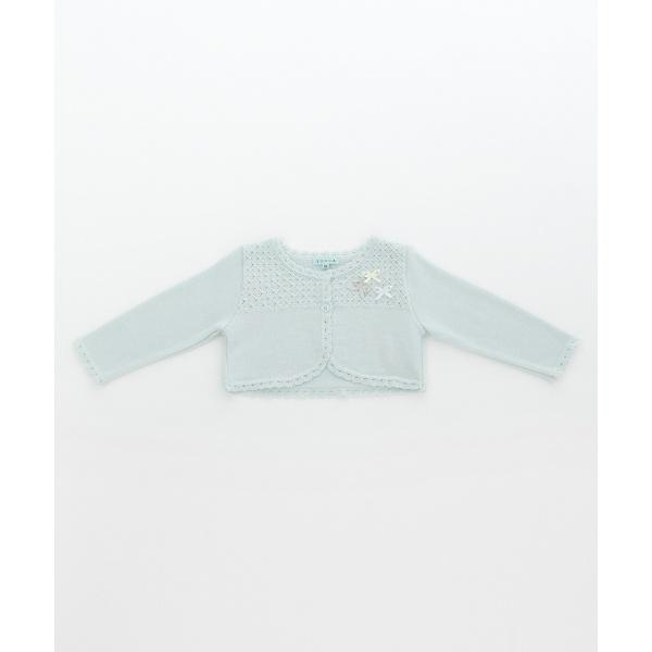 【BABY】CrochetRibbon カーディガン/トッカ バンビーニ(TOCCA BAMBINI)