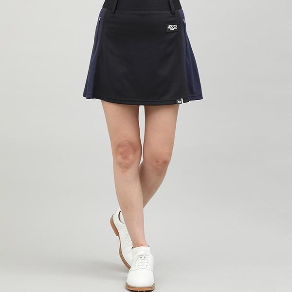 【UV】【吸水速乾】サイドカラーブロックスカート/ジュン&ロぺ(JUN&ROPE)