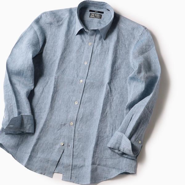 SC: BAIRD MCNUTT アイリッシュリネン レギュラーカラーシャツ/シップス(メンズ)(SHIPS)