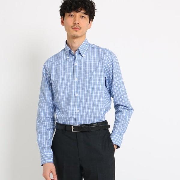 Mシャツ(ツインレールチェックシャツ[ メンズ シャツ スーツ ビジネス ])/タケオキクチ(TAKEO KIKUCHI)