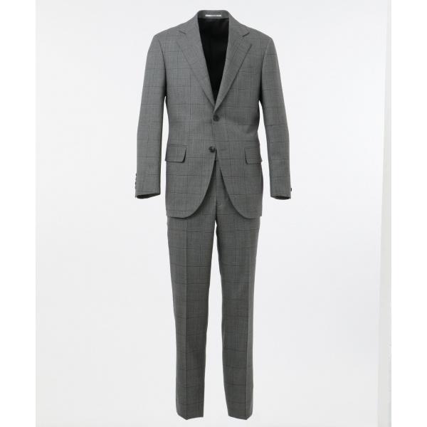 【ESSENTIAL CLOTHING】ウィンドウペーン スーツ/ジェイ・プレス メン(J.PRESS MEN)