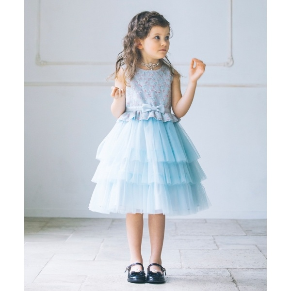 【KIDS】CheckerBoardPansy ワンピース/トッカ バンビーニ(TOCCA BAMBINI)