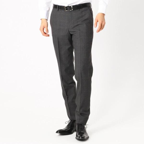 《セットアップ》 カノニコ super120's グレンチェック スーツパンツ/コムサイズムメンズ(COMME CA ISM)