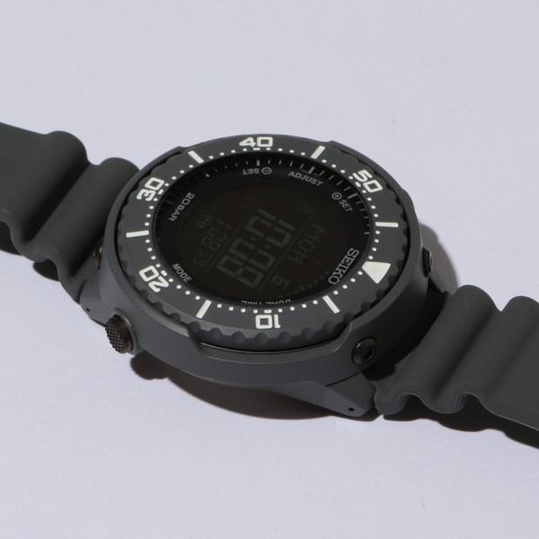 【別注】 <SEIKO(セイコー)> GRAY DIGITAL/腕時計/ビューティ&ユース ユナイテッドアローズ(メンズ)(BEAUTY&YOUTH)
