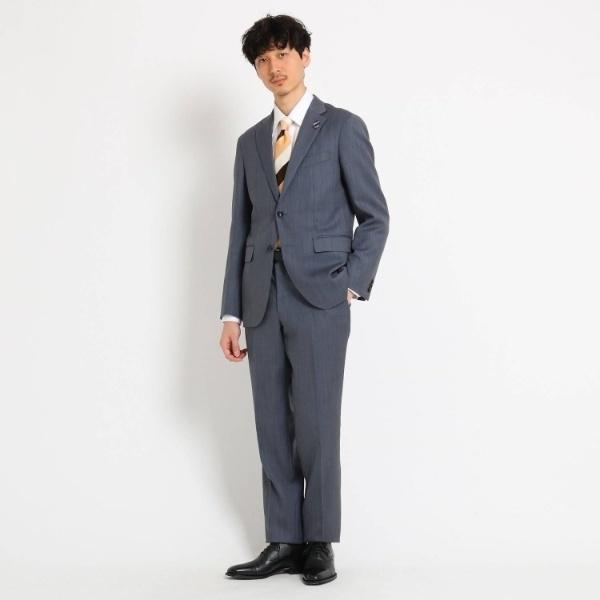 Mスーツ(【PNJ】ピンヘッドスーツFabric by MIYUKI Bemback(R)[ メンズ スーツ ビジネス 日本製 ])/タケオキクチ(TAKEO KIKUCHI)