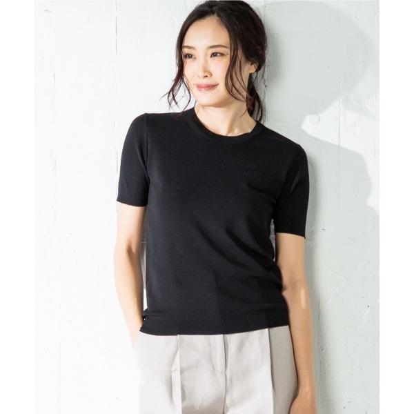 Luster Cotton 半袖 ニット/アイシービー L(ICB L)