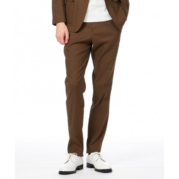 【セットアップ】メカニカルストレッチリネン パンツ/カルバン・クライン メン(Calvin Klein men)