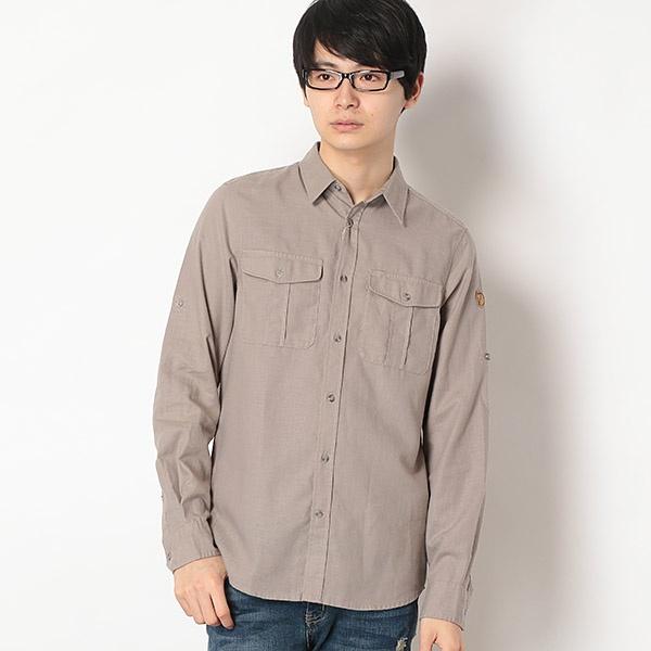 Ovik Travel Shirt LS (正規品)/フェールラーベン(FJALLRAVEN )