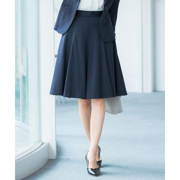 【セットアップ対応】ファンクショナルモクロディ スカート/組曲 L(KUMIKYOKU L)